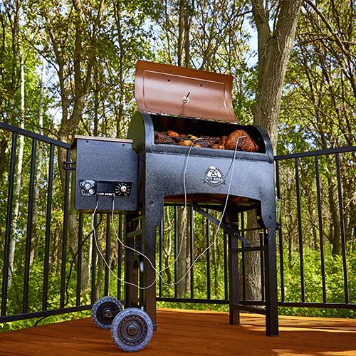 Pit Boss 340 Tailgater Wood Pellet Smoker Grill
